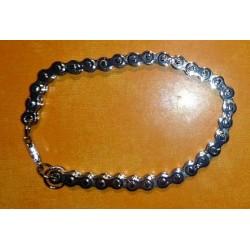 Bracelet mailles chaine de moto