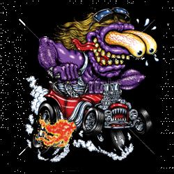 Débardeur homme purple monster red hot rod