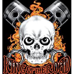 Débardeur homme king of the road