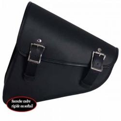 Bagage moto, sacoche Buffalo carde rigide ou softail