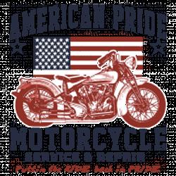 Débardeur homme american pride bike