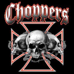 Sweat biker skull choppers