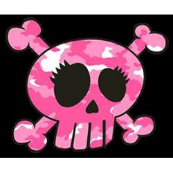 T Shirt enfant skull pinky