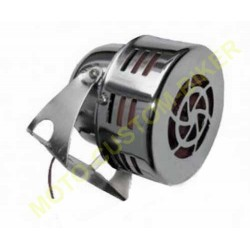 Mini sirène us chromé à turbine