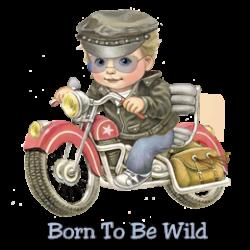 Body baby biker pirate