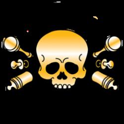Body baby biker my first skull