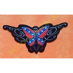 Patch, écusson papillon confédéré