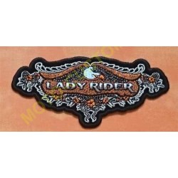 Patch, écusson lady rider aigle