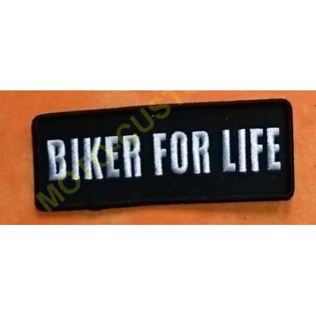 Patch, écusson biker for life