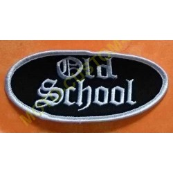 Patch, écusson old school