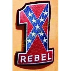 Patch, écusson rebel 1%