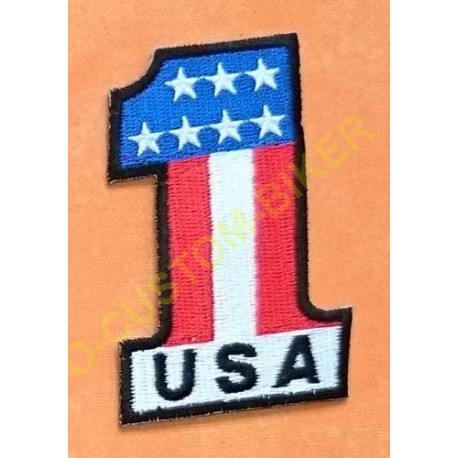 Patch, écusson usa 1%
