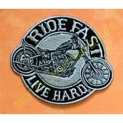 Patch, écusson Ride Fast custom