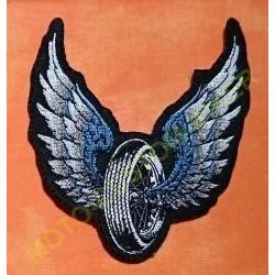 Patch, écusson wheel angel