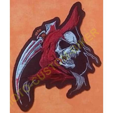 Patch, écusson reaper head