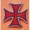 Patch, écusson croix de fer rouge