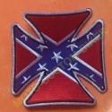 Patch, écusson Iron Cross Rebel Flag
