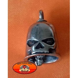 Clochette moto skull