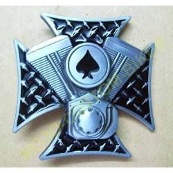 Boucle de ceinture Motorcycle Engine and Cross