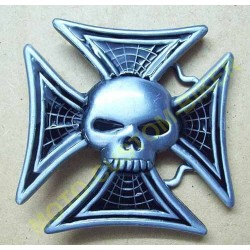 Boucle de ceinture Skull Iron Cross