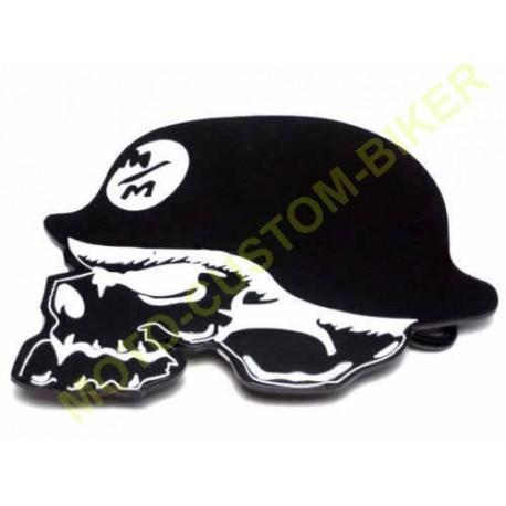 Boucle de ceinture germain skull