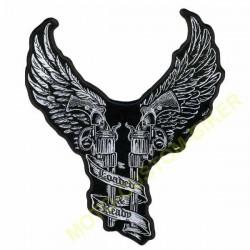 Patch, écusson angels and guns
