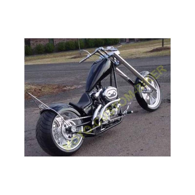 guidon moto black drag pour harley davidson et custom bobber. Black Bedroom Furniture Sets. Home Design Ideas