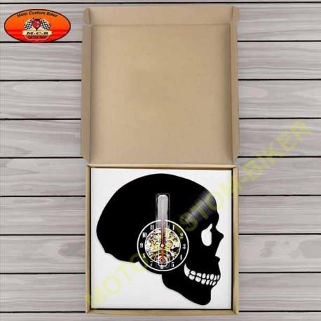 Horloges murale Head Skull