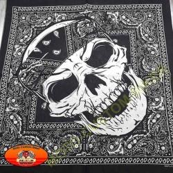 Bandana chicanos skull