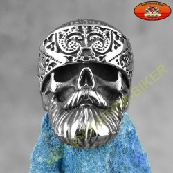 Bague biker bearded