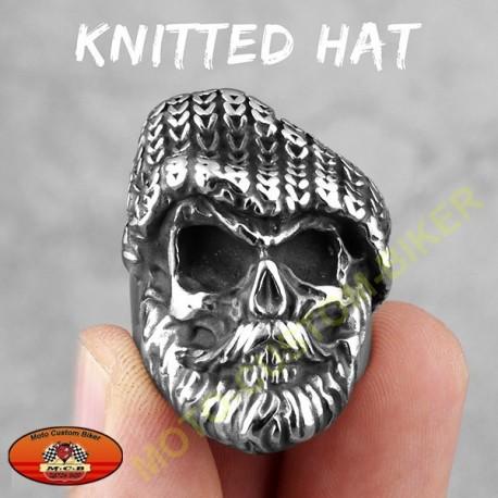 Bague biker knitted