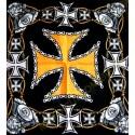 Bandana croix de malte