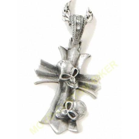 Pendantif moto croix celtique