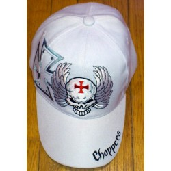 Casquette skull flaming