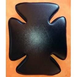 Selle à ventouses croix de malte pour harley, pouf custom