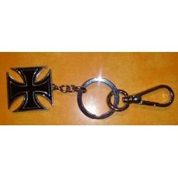 Porte cles croix de malte