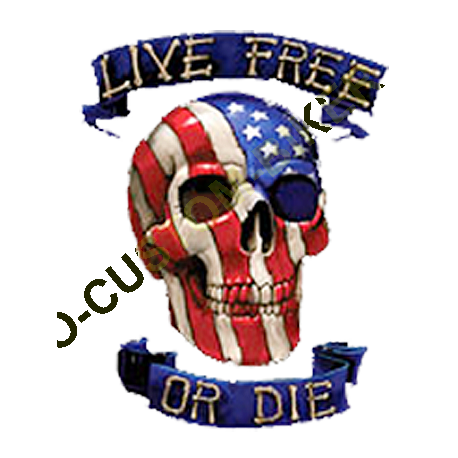 T shirt live free or die