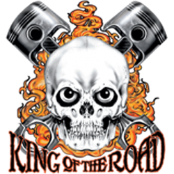 T shirt king of the road