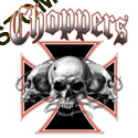 T shirt skull choppers