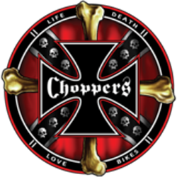 T shirt choppers and bones