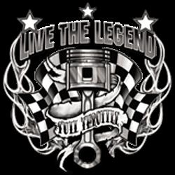 T shirt live the legend