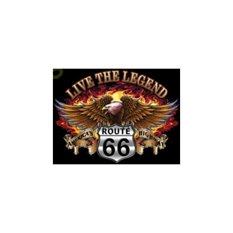 T shirt live the legend eagle