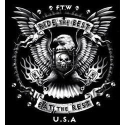 T shirt biker ride the best
