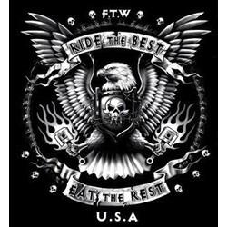 T shirt biker ride the best