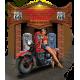 T shirt biker american hiway