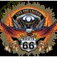 T shirt biker live the legend road 66