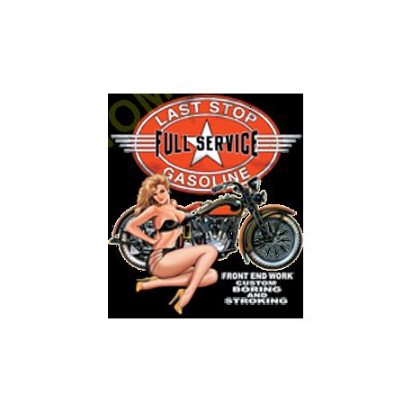 T shirt biker full service