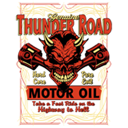 T shirt biker road devil