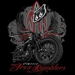 T shirt biker iron rumbler's