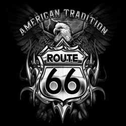 T shirt biker american tradition